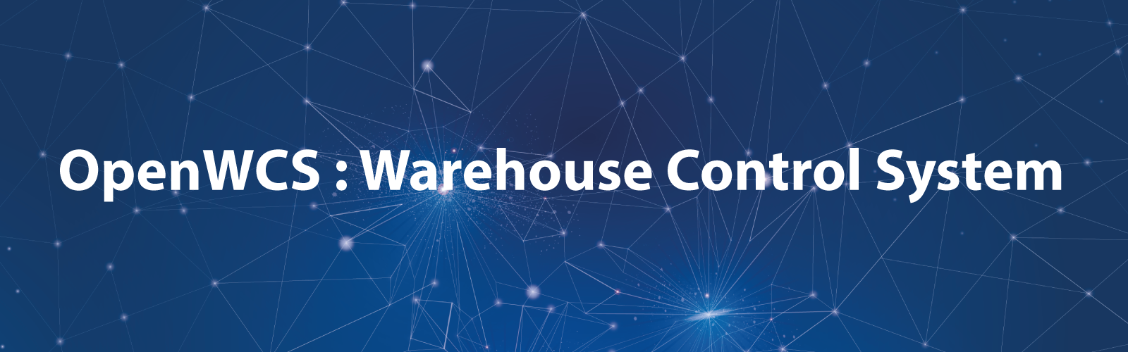 OpenWCS : Warehouse Control System